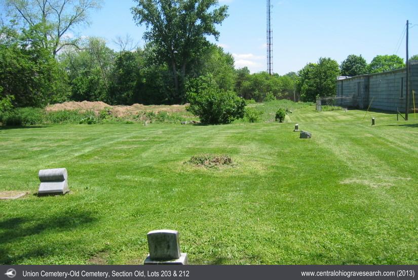 Union Cemetery, Columbus, Franklin County, Ohio